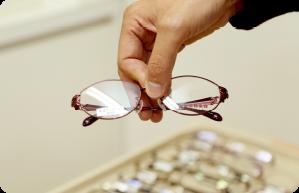 眼鏡の処方箋発行、眼鏡の院内作成・修理